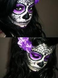 i like this sugar skull makeup