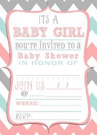 Baby Shower Invitations Layouts Ba Shower Invitation Free Template