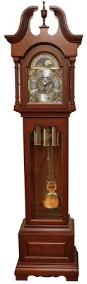 grandfather clock png. winchester grandfather clock in cherry with #73872 dial and #500 weights png i