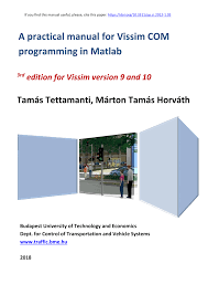 Starting Out With Programming Logic And Design 3rd Edition Pdf Pdf A Practical Manual For Vissim Com Programming In Matlab