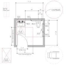revit handicap accessible toilet room bradley verge with