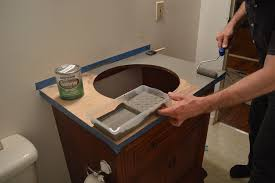 al refresh big bangs in small projects new faucets painting bathroom countertops marble