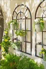 garden wall decor outdoor wall