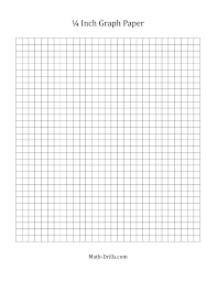 Inch Graph Paper Printable Graph Paper Black Lines With One Inch