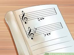 Transposition Chart Pdf How To Transpose Music From C To F 12 Steps With Pictures