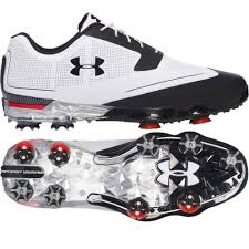 under armour 2017 ua tour tips waterproof mens spikes golf shoes leather