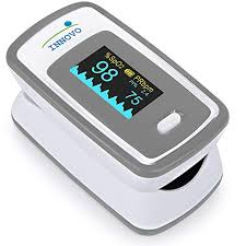 Perfusion Index Chart Innovo Deluxe Fingertip Pulse Oximeter With Plethysmograph