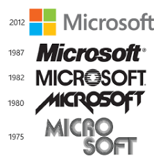 Microsoft Logo - This Design and History of the Microsoft Brand