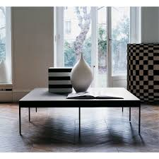 ebe low square coffee table by maxalto