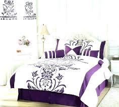 dark purple bedding sets pink comforter bedspreads and comforters white flocking set queen size baby
