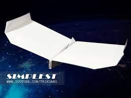 a paper airplane that flies fast far