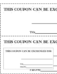free coupon template word 11 free coupon templates word excel pdf formats