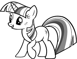 Small Picture Printable 16 My Little Pony Coloring Pages Twilight Sparkle 3163