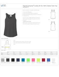 C Port And Company T Shirts Size Chart Dreamworks