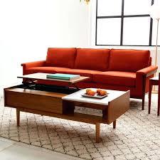 coffee table red concrete reddit kapp co