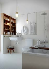 spacious all white bathroom. Love This Spacious Crisp Bathroom All White S