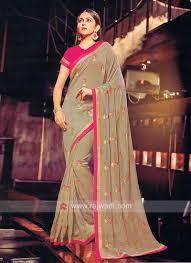 Singh Designer Art Silk Rakul Preet Singh Designer Sari
