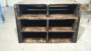 diy pallet shoe rack. Upcycled Pallet Vintage Storage Unit And Shoes Rack Diy Shoe