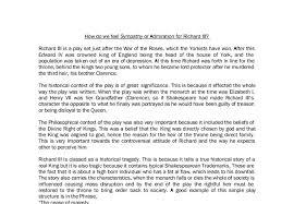example of richard iii essay topics richard iii essay klamath