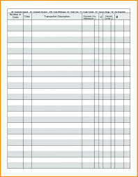 012 Printable Checkbook Register Sheets Full Page Check