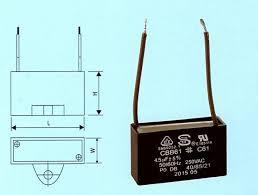 component cbb61 capacitor uxcell® non polar cbb61 4 5uf ceiling uxcell® non polar cbb61 4 5uf ceiling fan motor running capacitor 5 wire diagram