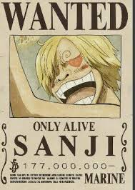 wanted sanji only alive