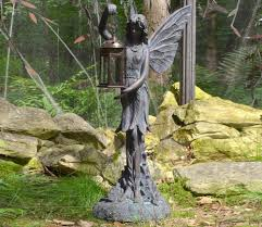fairy lantern statue garden ornament