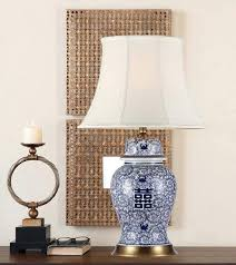antique ceramic table lamps happiness china living room vintage lamp porcelain wedding decoration orie
