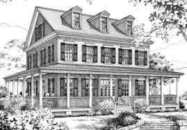 Farmhouse House Plans   Sunset House PlansMoss Bluff SL