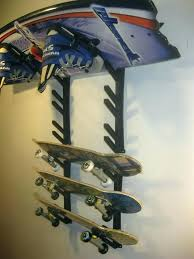 ski wall rack wall ski racks ski snowboard skateboard sport storage display holder wall mount rack