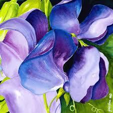 purple sweet peas janis ilene images
