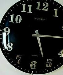 black wall clock 13 99 pic uk