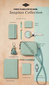 This season we're all about seaglass, the color that will take you from