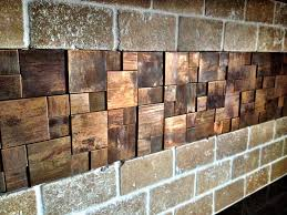 Metal Wall Tiles For Kitchen Unique Copper Metal Backsplash Tiles With Copper Mosaic Is