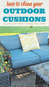 how to clean patio cushions outdoor and save your money