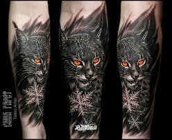 рысь татуировки Rustattooru сургут