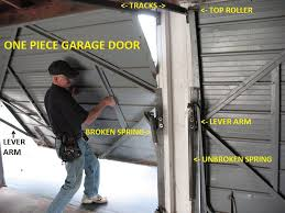 garage door extension springsOnePiece Garage Door Extension Springs