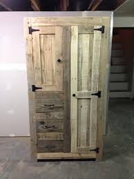 cabinets made from pallets photolex how to build storage cabinets with doors