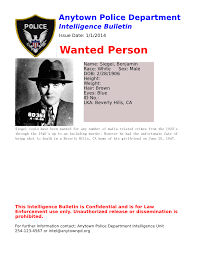Bolo Template The Crime Analysts Blog What Makes A Good Bolo