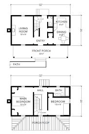 small 2 story house plans. Interesting House Project Small House Virginia Farmhouse Plans 16u0027 X 32 With 2 Story House