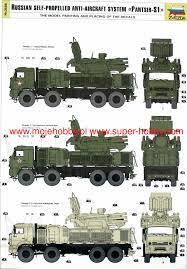 PANTSIR S-1 Anti-Aircraft System Zvezda 3698