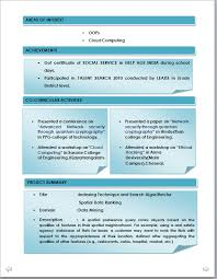 100% Original - curriculum vitae samples for bca freshers