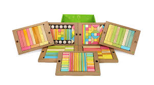 Tegu Designs Buy 240p Piece Tegu Classroom Magnetic Wooden Block Set
