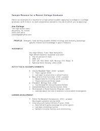 Job Resume Examples No Experience Megakravmaga Com