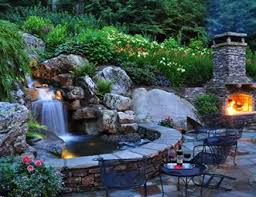 backyard ponds and waterfalls. Beautiful Waterfalls Backyard Waterfall Waterfall Lighting Pond And Greenleaf  Services Inc Linville NC For Ponds And Waterfalls C