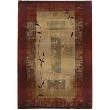 border home decorators collection 5 x 8 area rugs rugs