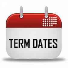 Term Dates 2019 - Homepage