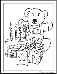 55 Birthday Coloring Pages Customizable Pdf Projects To Try