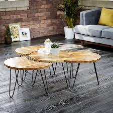 hairpin leg coffee table sets