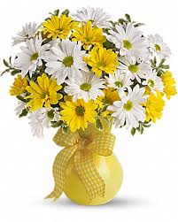 pictures of the flower. Perfect The Teleflorau0027s Upsy Daisy Bouquet With Pictures Of The Flower R